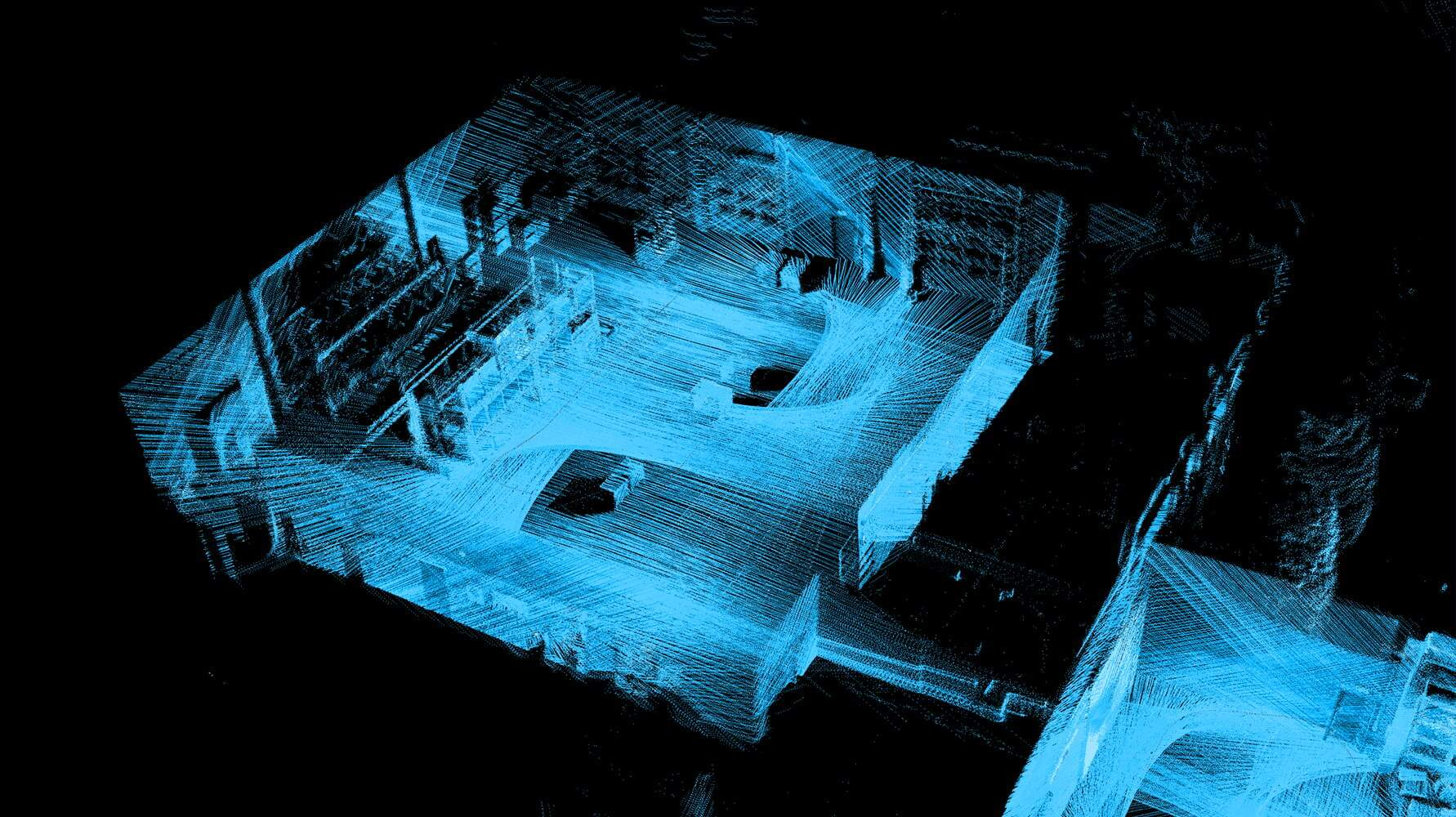 lidar localization for intralogistics