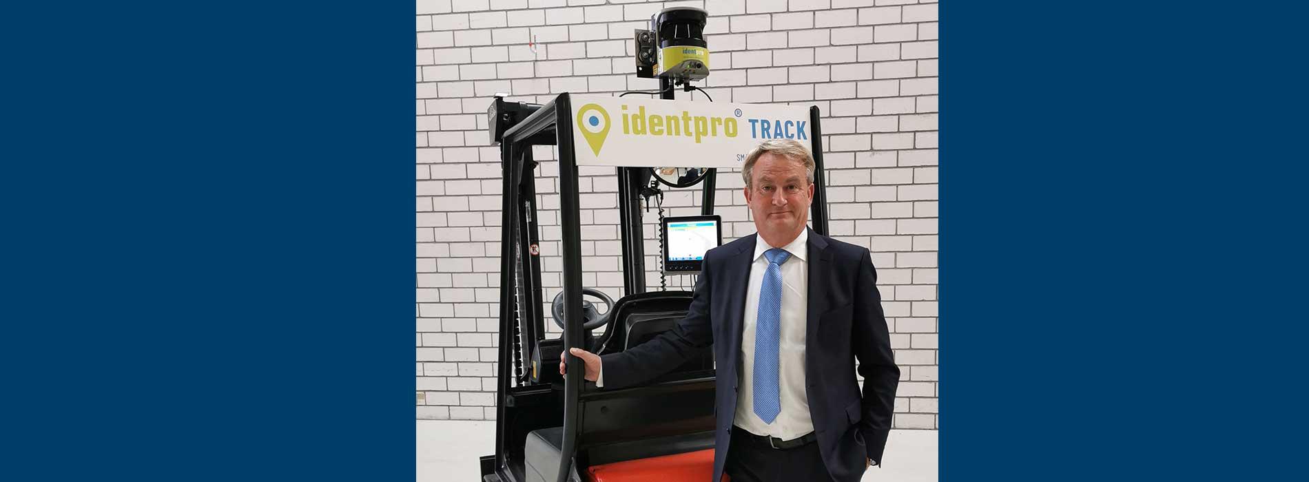 Erik van Rikxoort mit IdentPro Staplerlösung für warehouse optimization